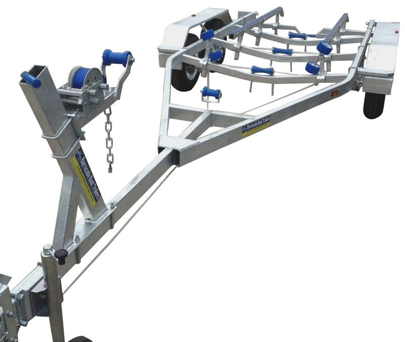 Swiftco 6 Metre Boat Trailer Skid Type