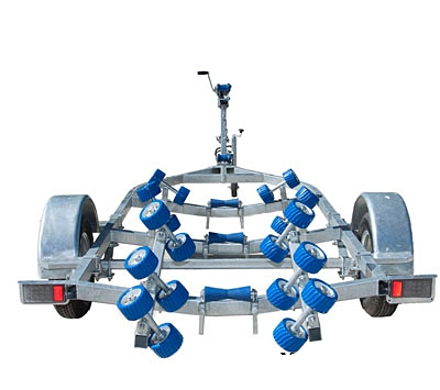 Swiftco 5 Metre Boat Trailer Wobble Rollers
