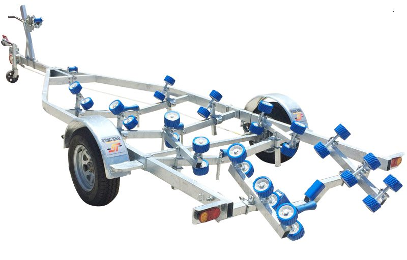 Swiftco 6 Metre Boat Trailer Single Axle Wobble Rollers