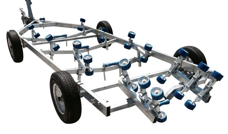 Swiftco 6.9 Metre Ramp Dolly Trailer