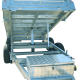 8ft x 5ft DUAL AXLE GALVANISED HYDRAULIC TIPPER TRAILER 600mm CAGE - 3000Kg Rated 2