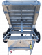 8ft x 5ft DUAL AXLE GALVANISED HYDRAULIC TIPPER TRAILER 600mm CAGE - 3000Kg Rated 1