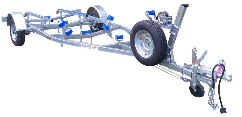 Swiftco 5 Metre Boat Trailer Skid Type